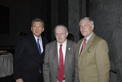 NAEVR/AEVR's James Jorkasky with Cong. Howard Coble (R-NC) and Cong. Sessions