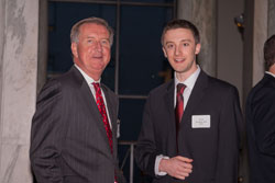 Dr. McDonnell and Matt Windsor of AEVR founding member Association for Research in Vision and Ophthalmology (ARVO)