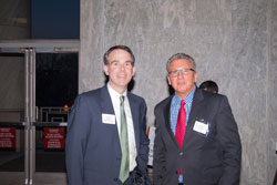 Michael Buckley (BrightFocus Foundation) and James Jorkasky