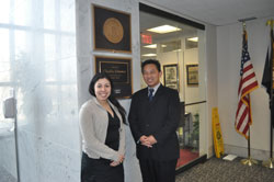 Earlier that day, Dr. Chuck met with Veronica Duron in the office of Senator Chuck Schumer (D-NY