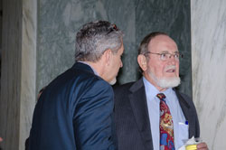 Left to right: AEVR Executive Director James Jorkasky with Cong. Don Young (R-AK)