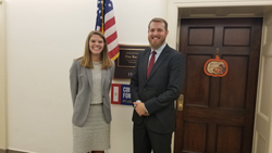 Rachel Pearce, office of Cong. Don Bacon (R-NE), with Matthew Van Hook, PhD (University of Nebraska)