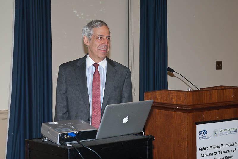 Featured speaker Donald Zack, M.D., Ph.D. (Wilmer Eye Institute, Johns Hopkins University)