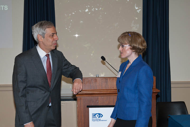 Dr. Zack speaks with Association for Research in Vision and Ophthalmology (ARVO) scientist Bobbie Ann Austin, Ph.D.