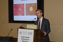 Featured speaker David S. Friedman, M.D., PhD. M.P.H. (Wilmer Eye Institute/Johns Hopkins University School of Medicine)
