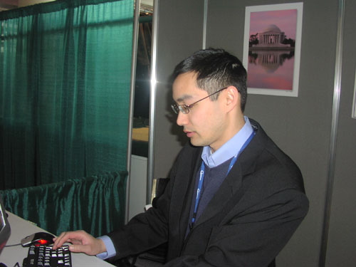 Dr. Jason Ng (University of California at Berkeley School of Optometry) sends an email to Congress urging increased NIH/NEI funding