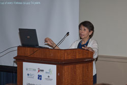 Featured speaker Emily Chew, M.D.