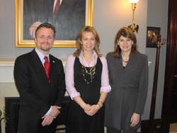 With Graham Smith in the office of Senator Richard Shelby (R-AL).
