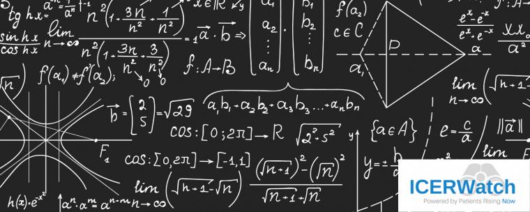 QALY complicated math formula ICER