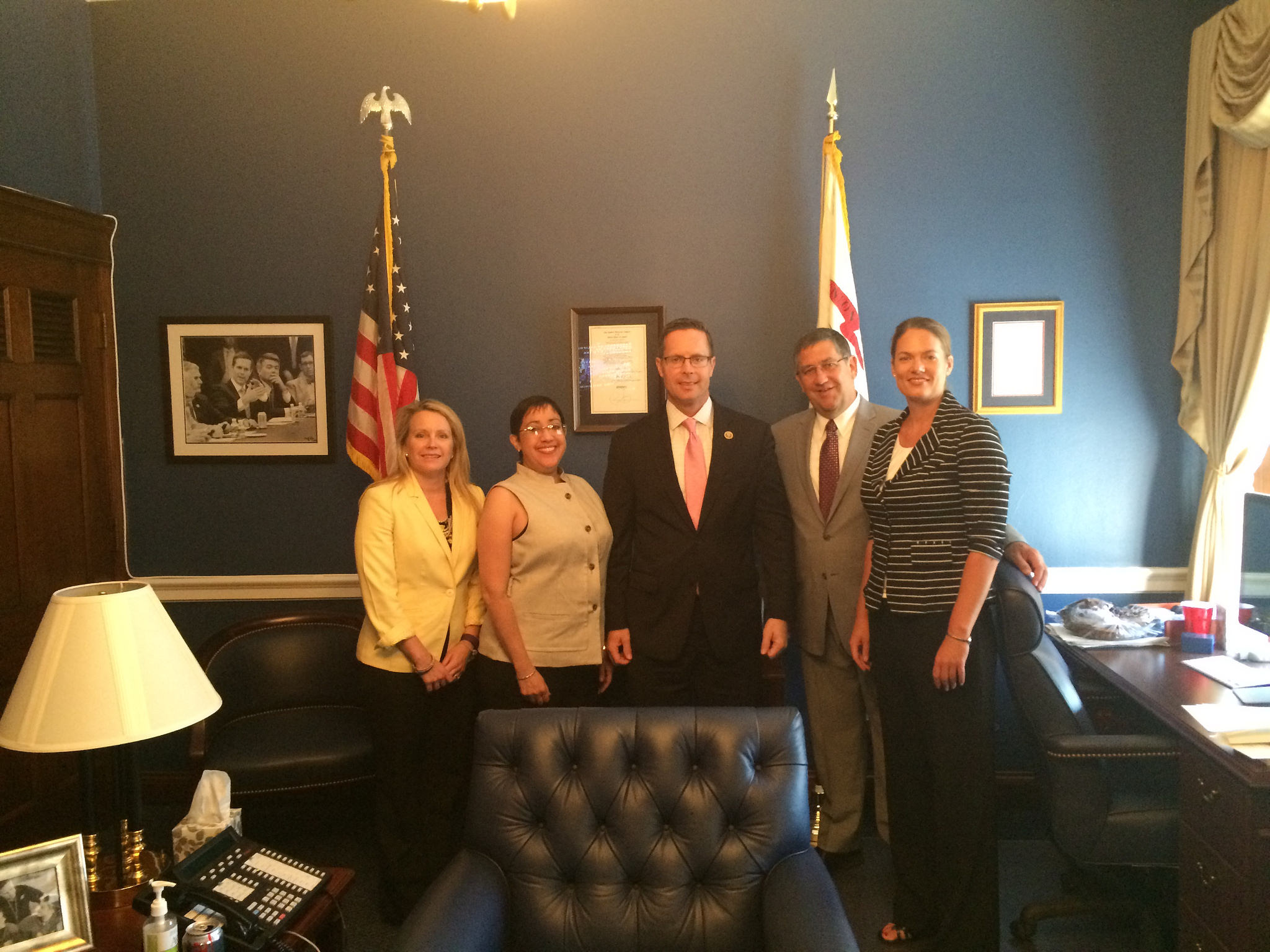 WWFH-IL partners meet with Rep. Rodney Davis at the 2015 WWFH Summit