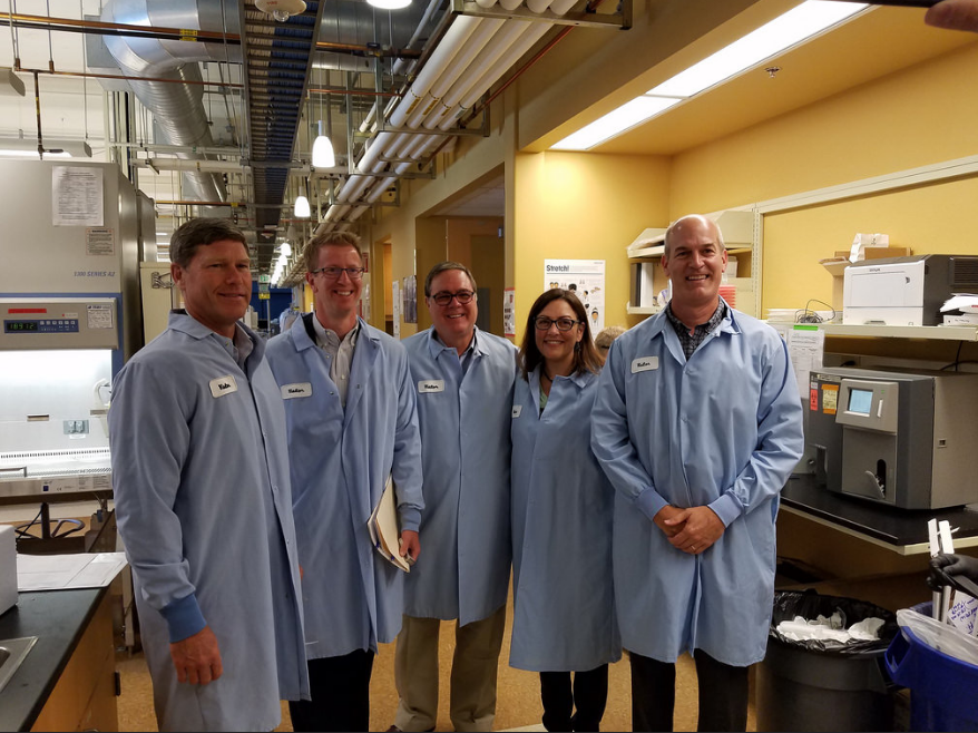 WWFH-WA regularly convenes members of Washington State's federal delegation to get better acquainted with local life science companies.