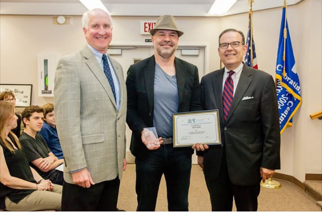 Congratulations to David Dubin, who received the Mayor's Committee on Life Sciences Patient Courage Award at the October 24 Borough Council meeting in Haworth, New Jersey.