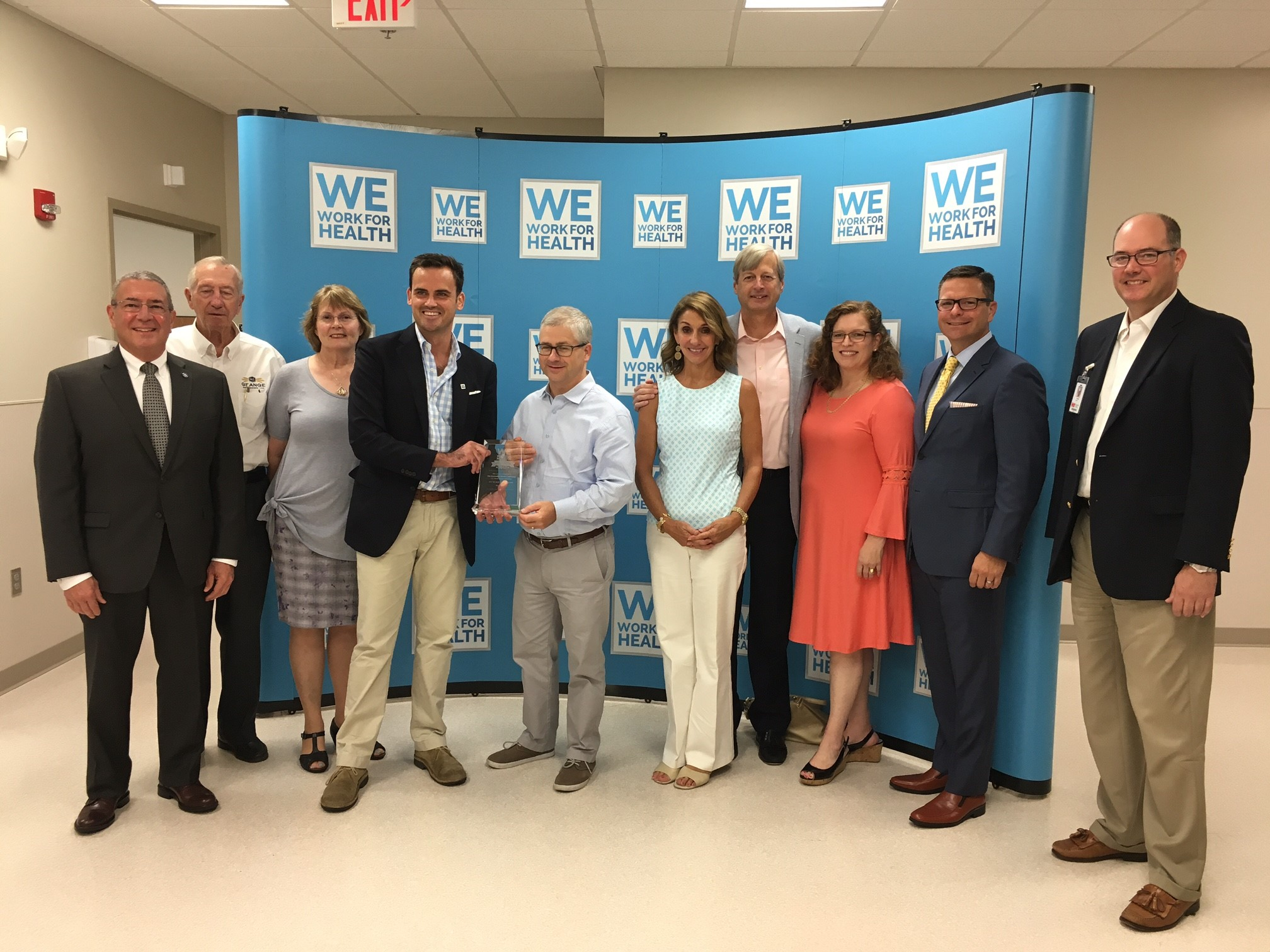 The WWFH campaign recognizes members of Congress who have championed medical innovation and access to new treatments and therapies. In 2017, Congressman Patrick McHenry (R), was recognized for his leadership with the WWFH Legislative Champion Award.