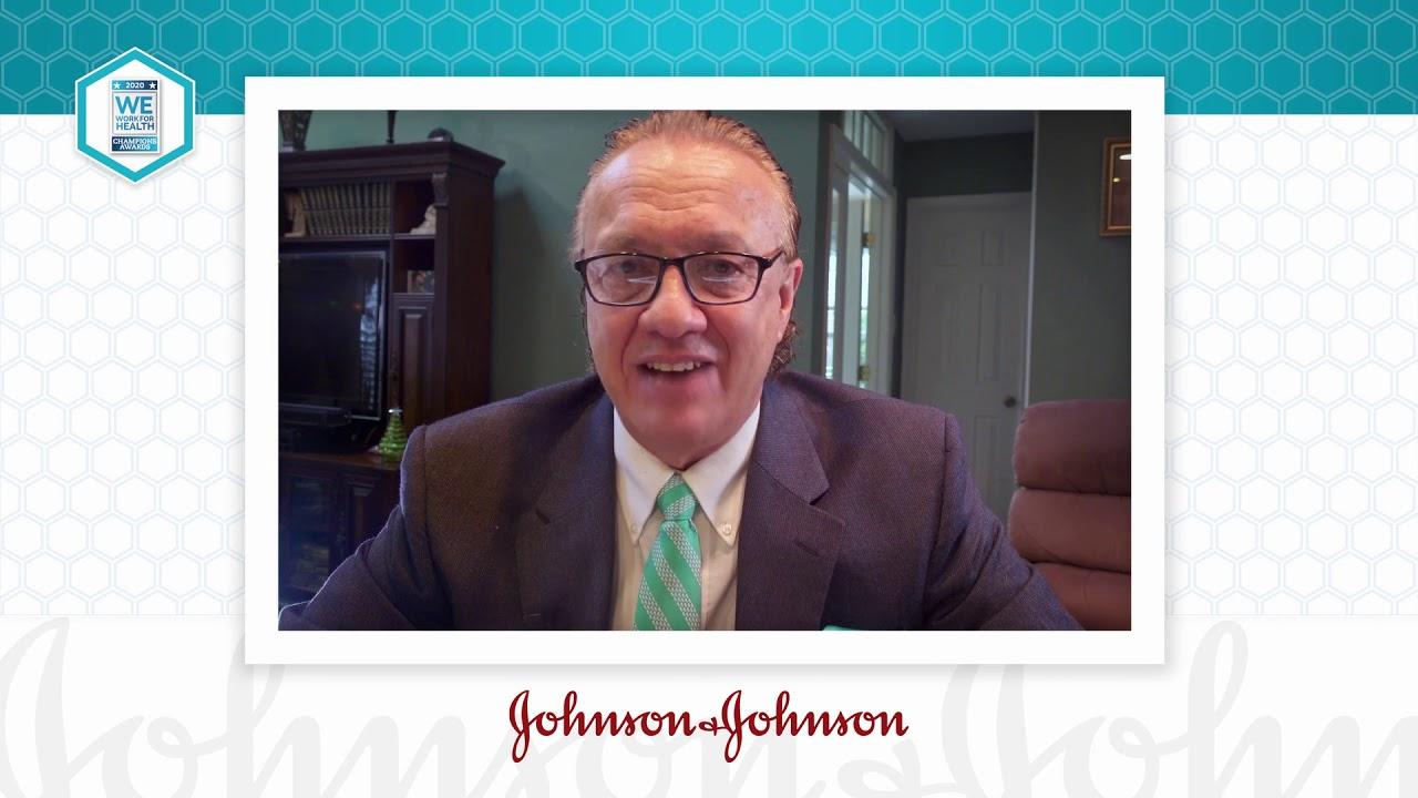 2020 We Work For Health Champion - John Hoffman - Johnson & Johnson