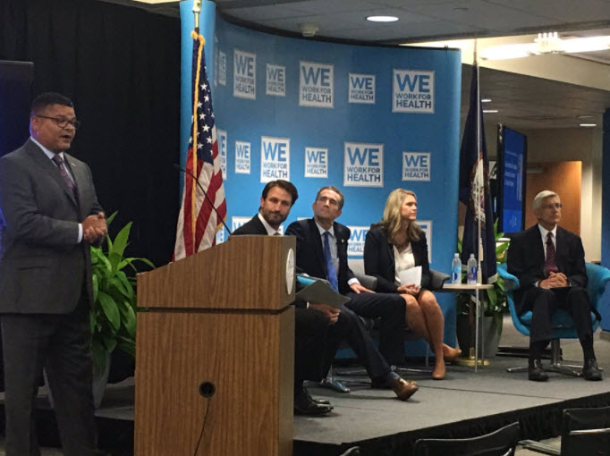 WWFH-VA hosted a policy issue forum with former Lieutenant Governor Ralph Northam at Pfizer's Richmond facility.